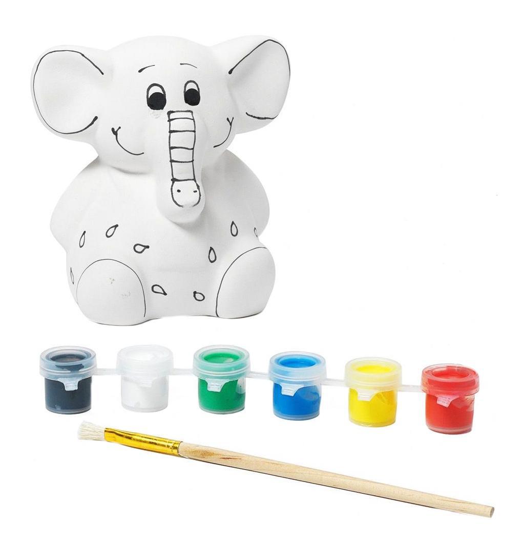 Набор для творчества Bondibon копилка-подарок слоненок фото