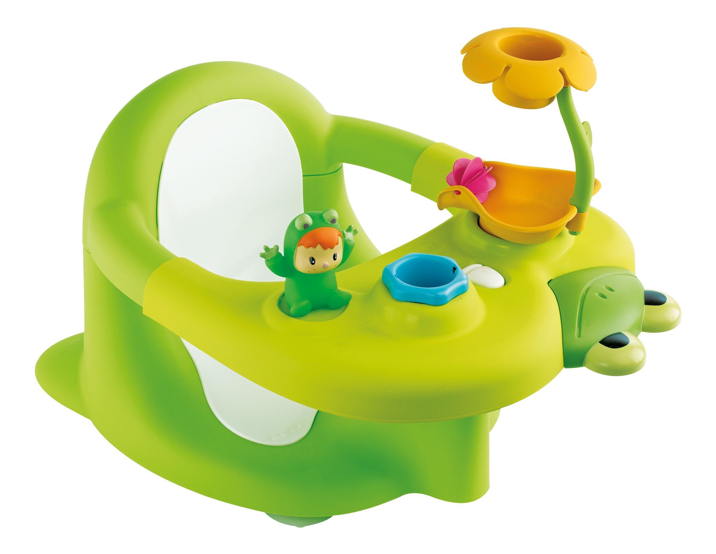 Купить Зеленый, Стульчик для купания, зеленый, 1/4, Smoby, Стульчики для купания малыша