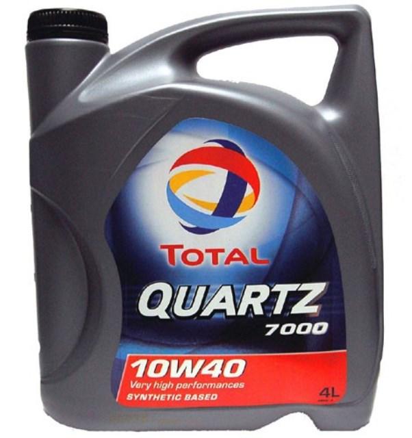 Моторное масло Total Quartz 7000 10W-40 4л