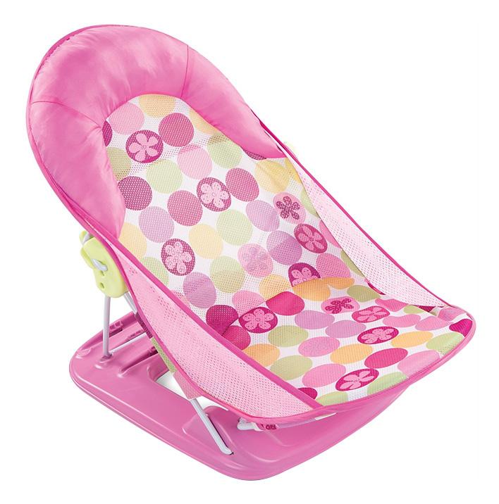 Лежак с подголовником для купания deluxe baby