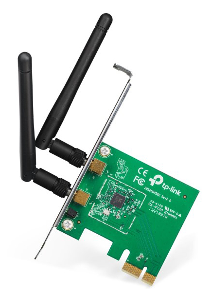 Приемник Wi Fi TP Link N300 Green