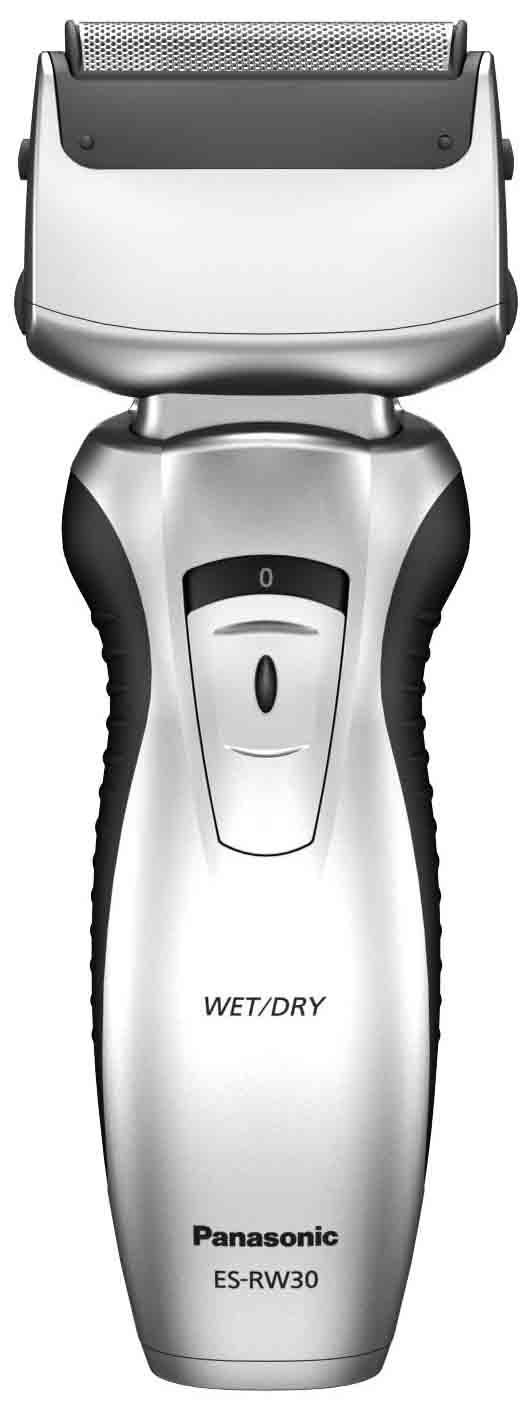 Бритва Panasonic ES-RW30 серебристый чёрный фото