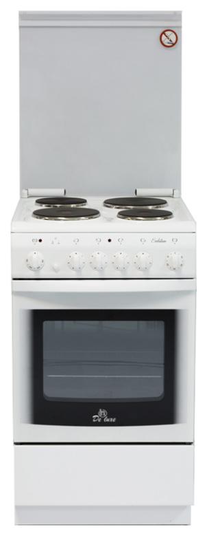 Электрическая плита DeLuxe 5004.1 White