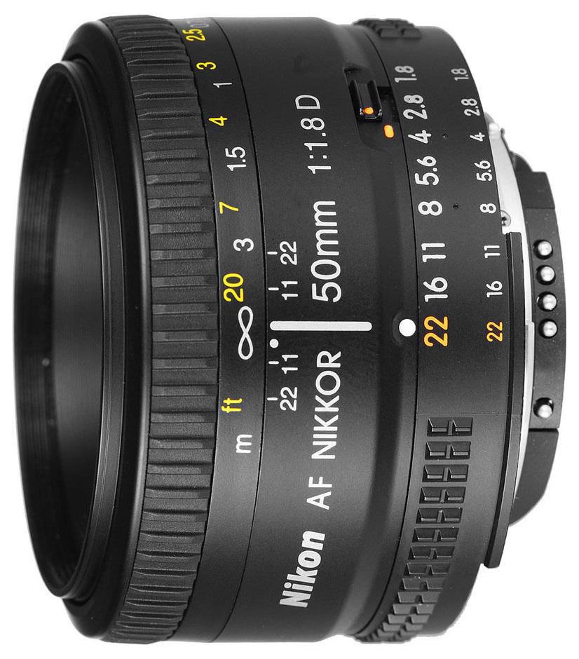 Объектив Nikon AF Nikkor 50MM f/1.8D фото