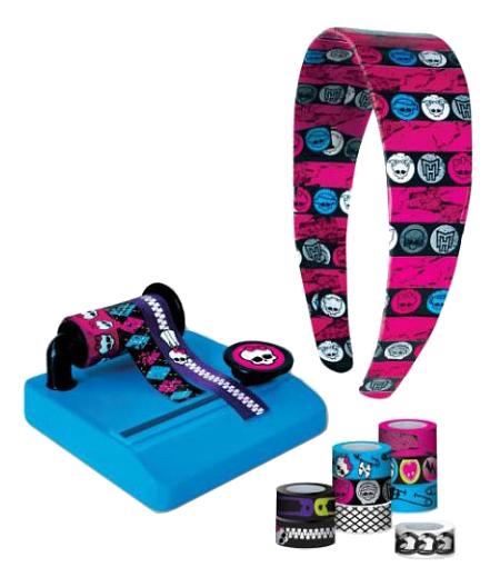 Купить Fashion Angels, Набор для декорирования Monster High ободков Школа монстров,