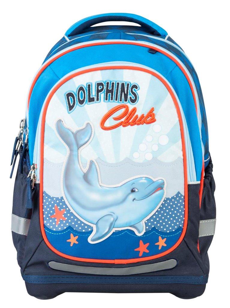 Рюкзак детский Target супер легкий  Дельфин