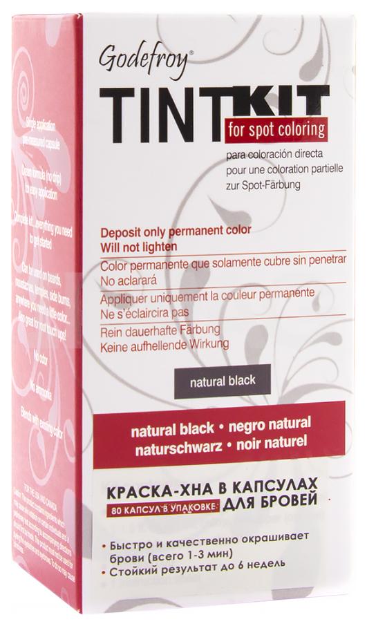 Краска для бровей Godefroy Tint Kit Black