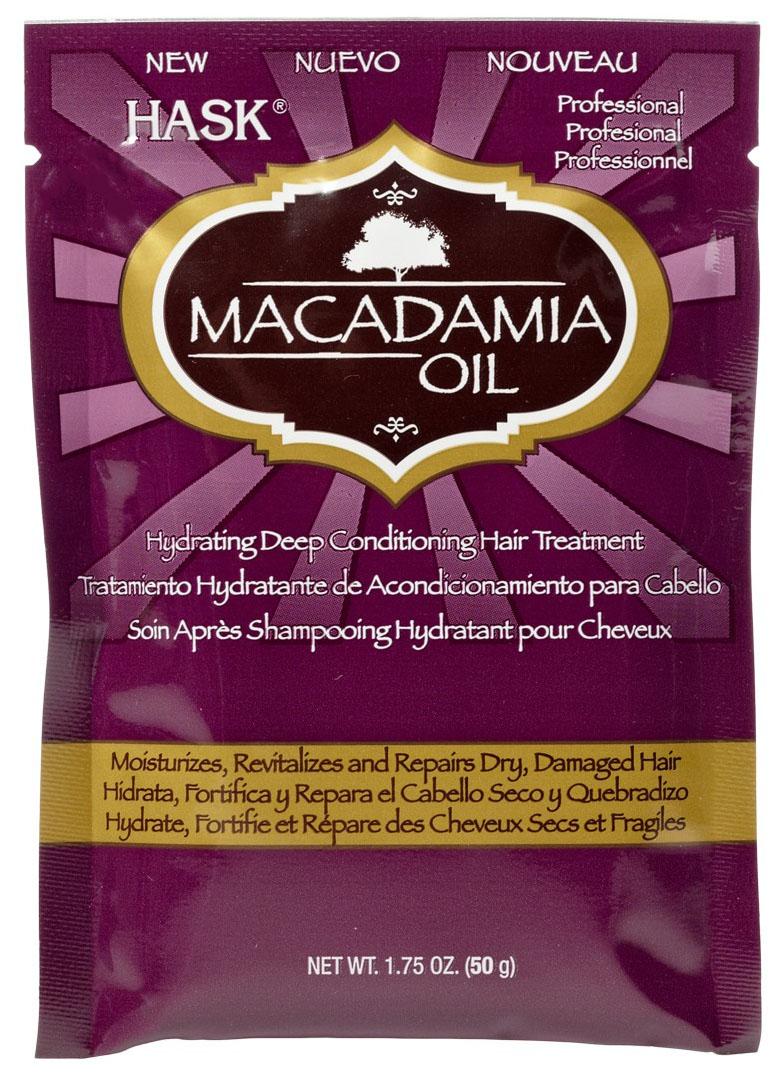 Купить Маска для волос Hask Macadamia Oil Hydrating Deep Conditioning Hair Treatment 50 г