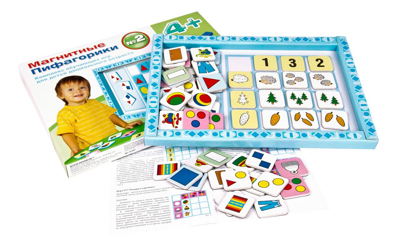 Развивающая игрушка Десятое Королевство Магнитные пифагорики 4+