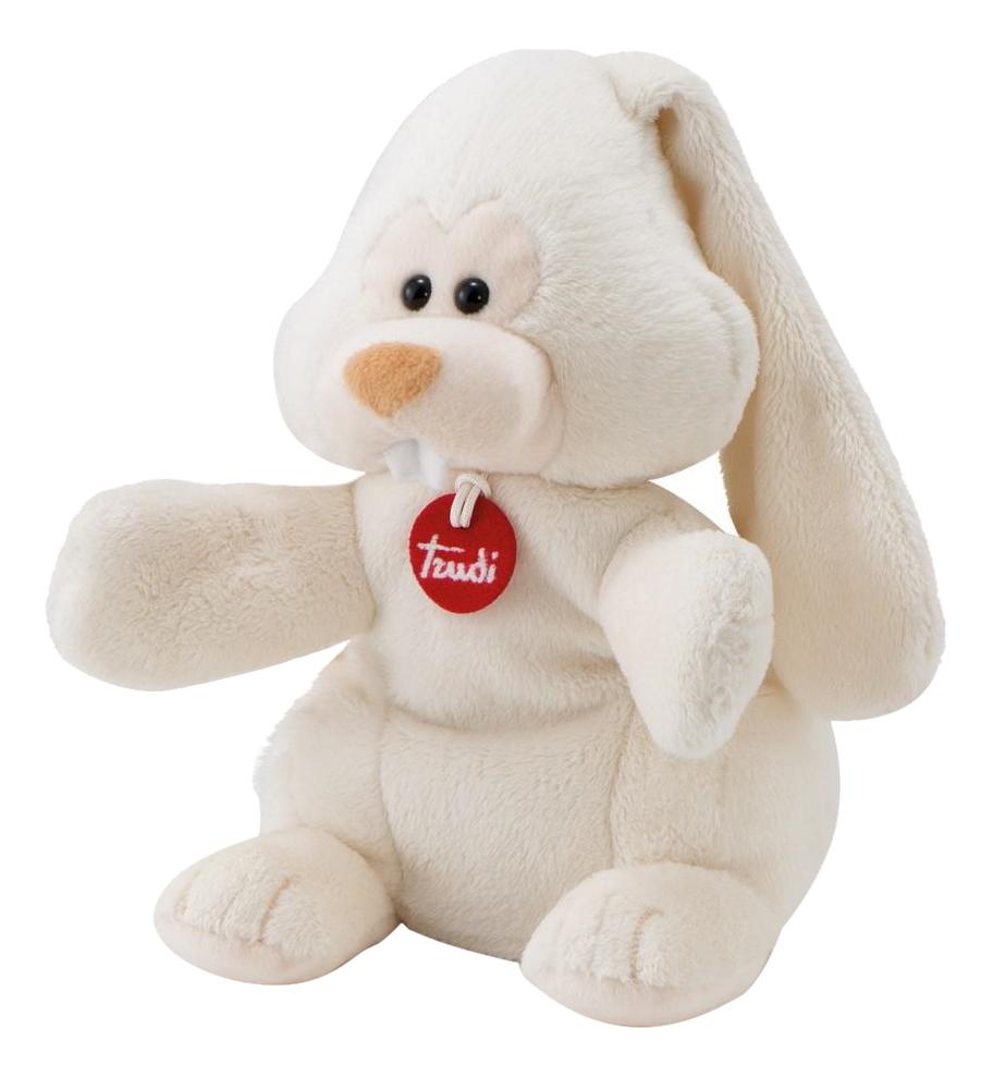 Купить Заяц Вирджилио 25 см, Мягкая игрушка Trudi на руку Заяц Вирджилио, 25 см, Мягкие игрушки животные
