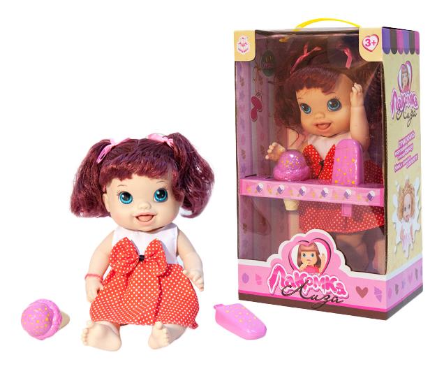 Кукла 1 Toy Лакомка Лиза красноволосая с хвостиками фото