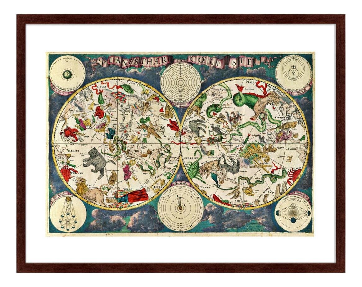 Картина Картины в Квартиру Карта Созвездий (79х100 см) карта созвездий 79 х 100 см по цене 12 999