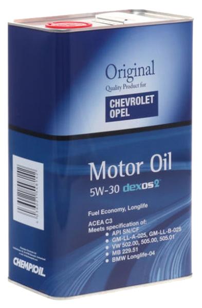Моторное масло Chempioil GM dexos 2 5W-30 1л