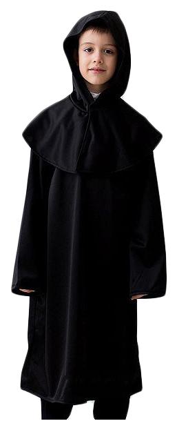 Карнавальный костюм Бока Монах, цв. черный р.122