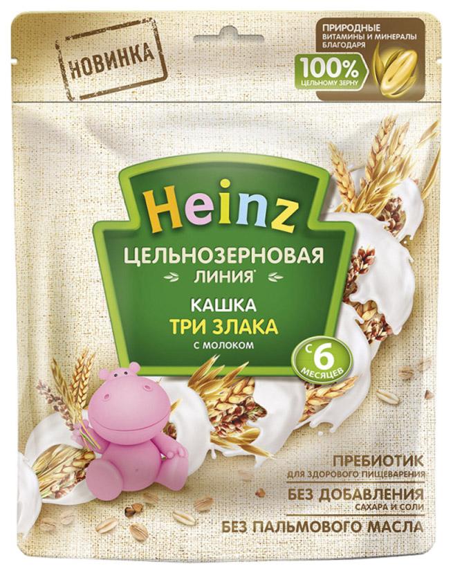 Каша молочная Heinz 3 злака цельнозерновая с 6 мес. 180 г