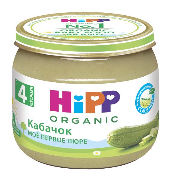 Купить Кабачок 80 г, Пюре овощное HiPP Кабачок с 4 месяцев 80 гр, Детское пюре