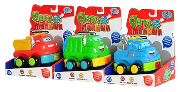 Купить Мягкая инерционная машинка авто малыши 7364, Машинка мягкая Play Smart 7364, PLAYSMART, Игрушечные машинки