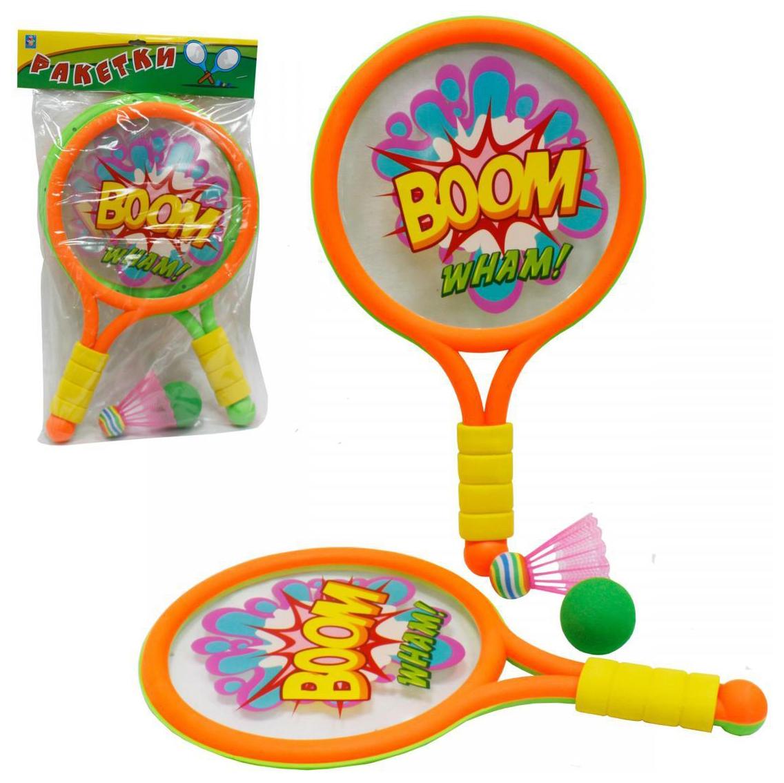 Игровой набор с ракетками 1 TOY Boom
