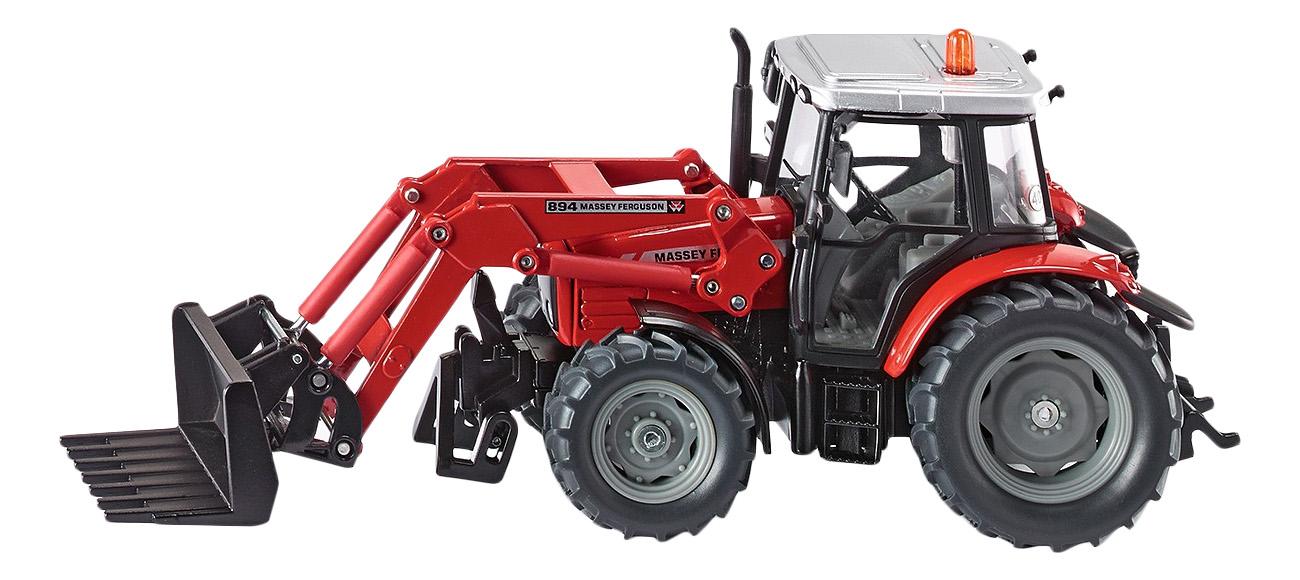 Купить Спецтехника Siku Трактор с ковшом вилами 1:32, Строительная техника