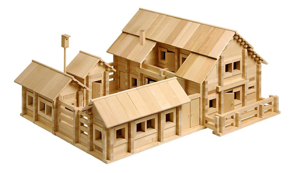 Конструктор деревянный ПЕЛСИ Постоялый двор