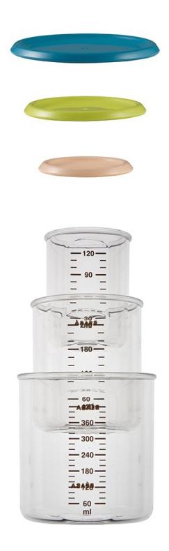 Купить Контейнер с крышкой для хранения продуктов BEABA Комплект контейнеров 3 шт., Контейнеры и пакеты для хранения грудного молока