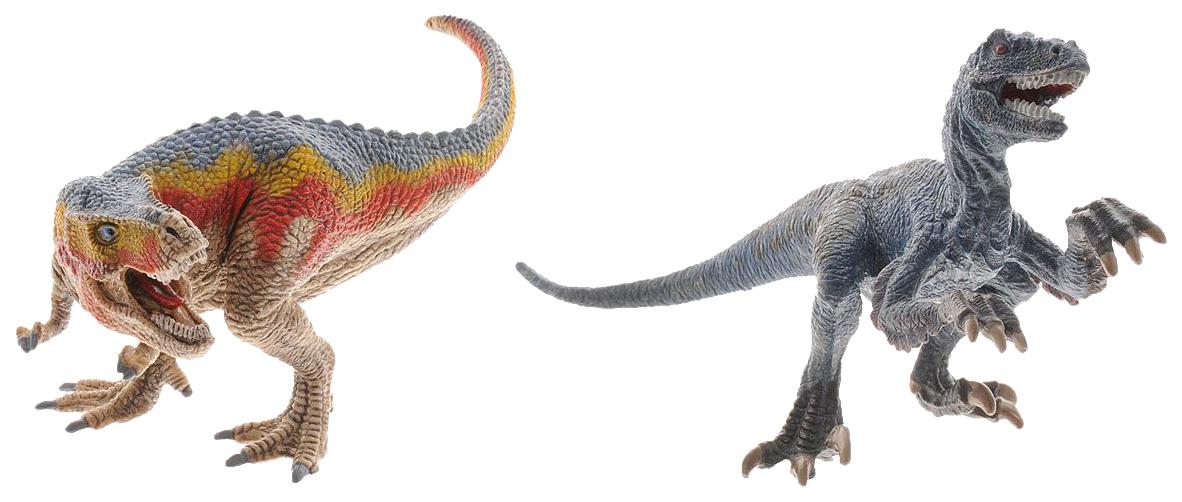 Купить Фигурка Schleich Тираннозавр и Велоцираптор, Игровые фигурки