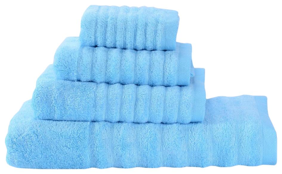 Банное полотенце, полотенце универсальное Valtery голубой