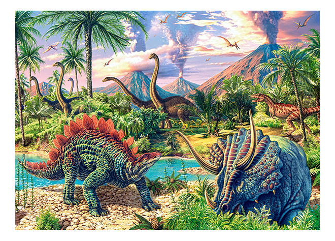 Купить Пазл Динозавры 120 элем. Castorland В-13234, Пазлы
