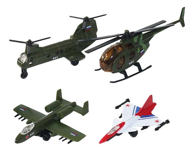 Купить Набор 20415 Набор военных летательных средств 4 шт Wincars 20415, Игровые наборы