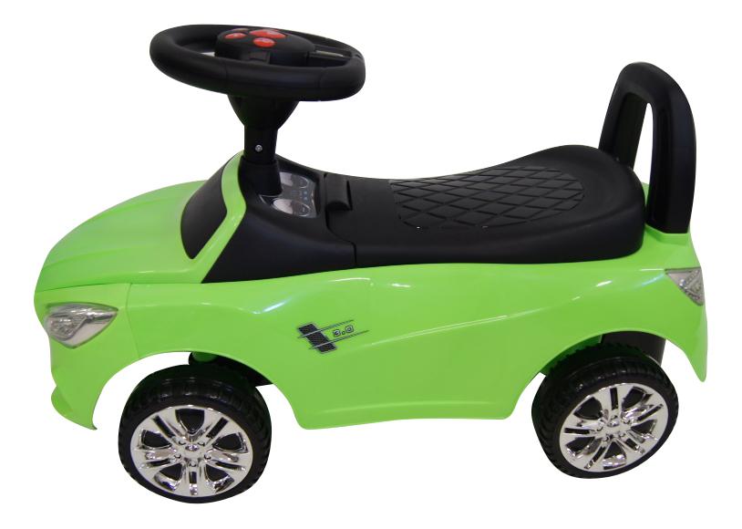 Толокар Mercedes зеленый RIVERTOYS