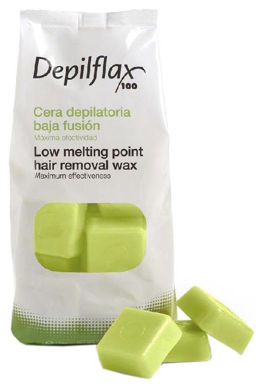 Воск для депиляции Depilflax Зеленый 1000 г