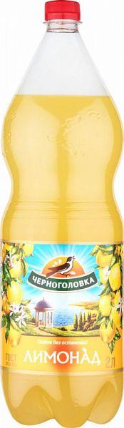 Лимонад Напитки из Черноголовки безалкогольный сильногазированный пластик 2 л фото