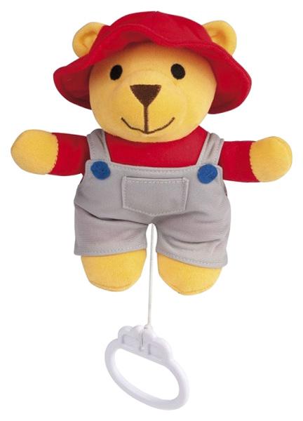 Купить Мягкая музыкальная игрушка Мишка, Мягкая игрушка Canpol музыкальная Мишка 2/407, 0+, мальчик, Мягкие игрушки животные