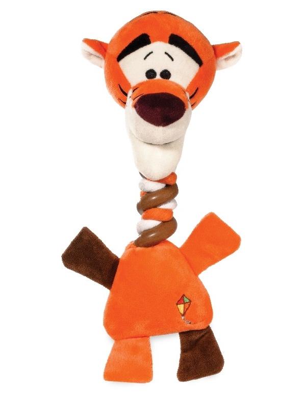 Мягкая игрушка для собак Triol Disney Тигруля, оранжевый, 35 см фото