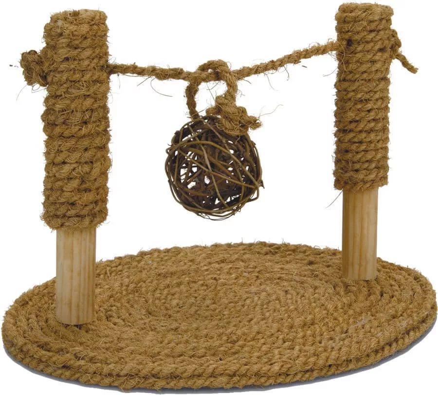 Игрушка для грызунов Beeztees Турник из кокосовой