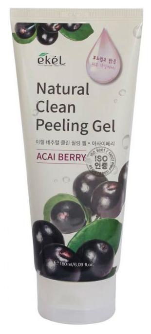 Купить Пилинг для лица Ekel Acai Berry Natural Clean Peeling Gel 180 мл