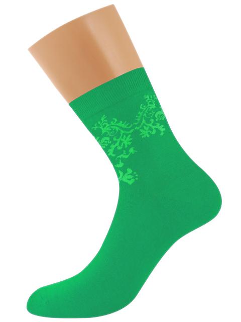 Носки женские Griff зеленые 35-38