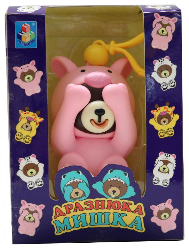 Купить Игрушка Мишка-дразнюка - Поросенок, 10 см 1TOY, 1 TOY, Игровые наборы