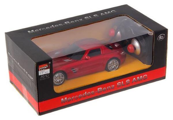 Купить Машина р/у Mercedes-Benz SLS AMG (на бат., свет), 1:24 MZ, Радиоуправляемые машинки