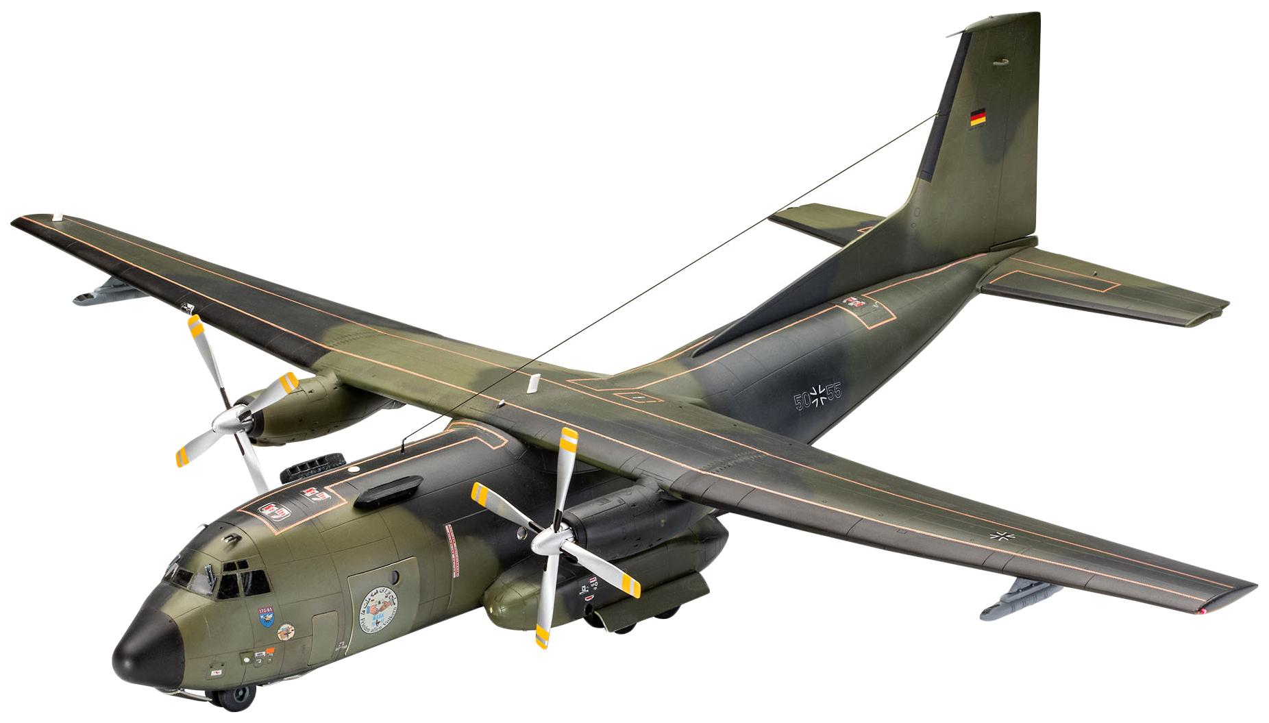 Купить Сборная модель Военно-транспортный самолет C-160 Transall Eloka , 1:72 Revell, Модели для сборки