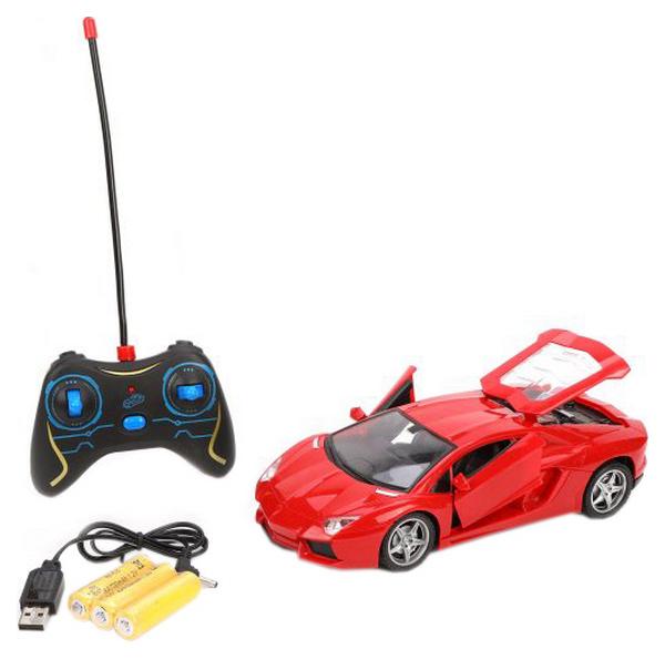 Радиоуправляемая машина Наша игрушка с открывающимися дверьми