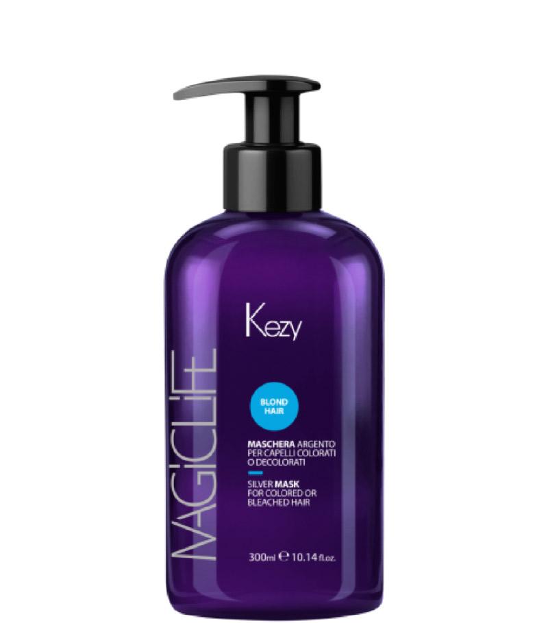 Маска Kezy Magic Life Blond Hair Silver Mask для окрашенных или осветленных волос, 300мл