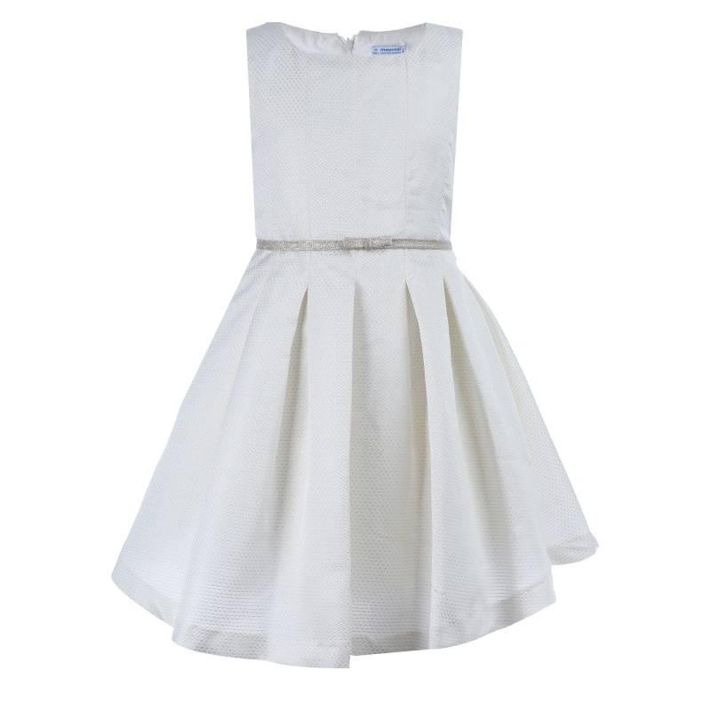 Купить Платье MAYORAL, цв. бежевый, 140 р-р, Детские платья и сарафаны
