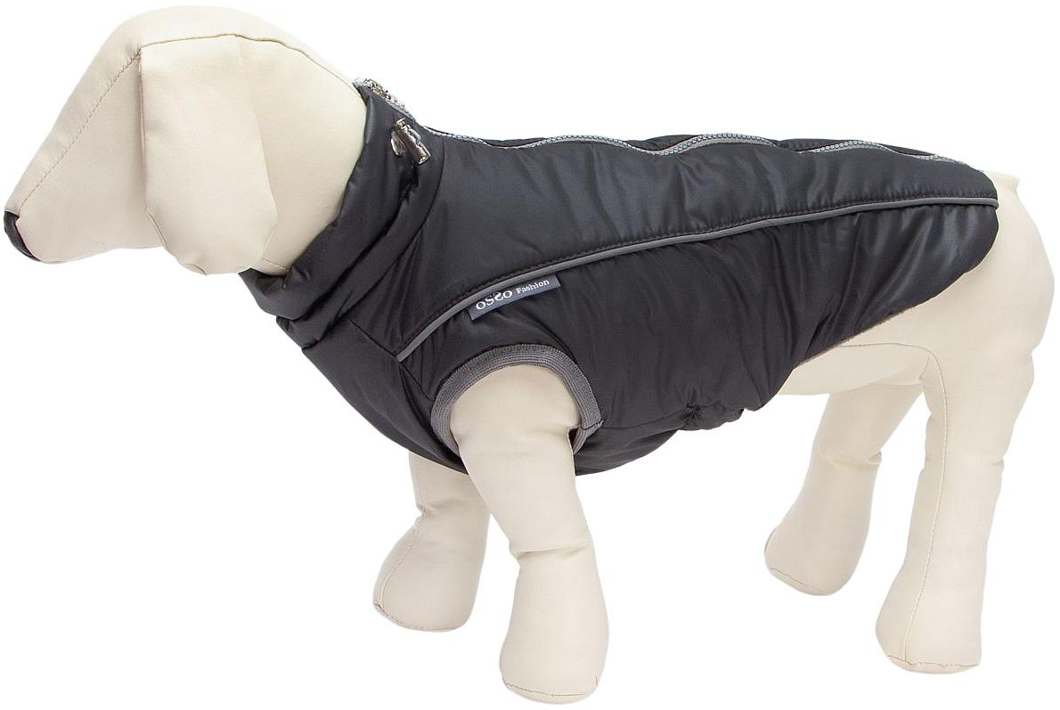 Жилет для собак OSSO Fashion Аляска, унисекс, графит, 28