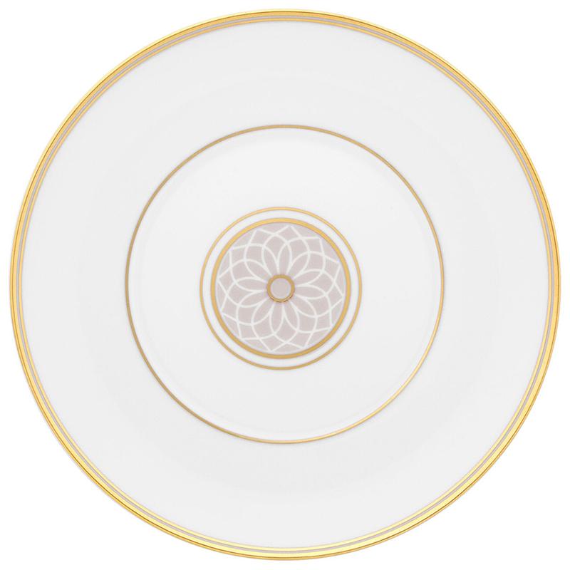Тарелка для хлеба 16,9см Vista Alegre TERRACE, цвет белый, золотой