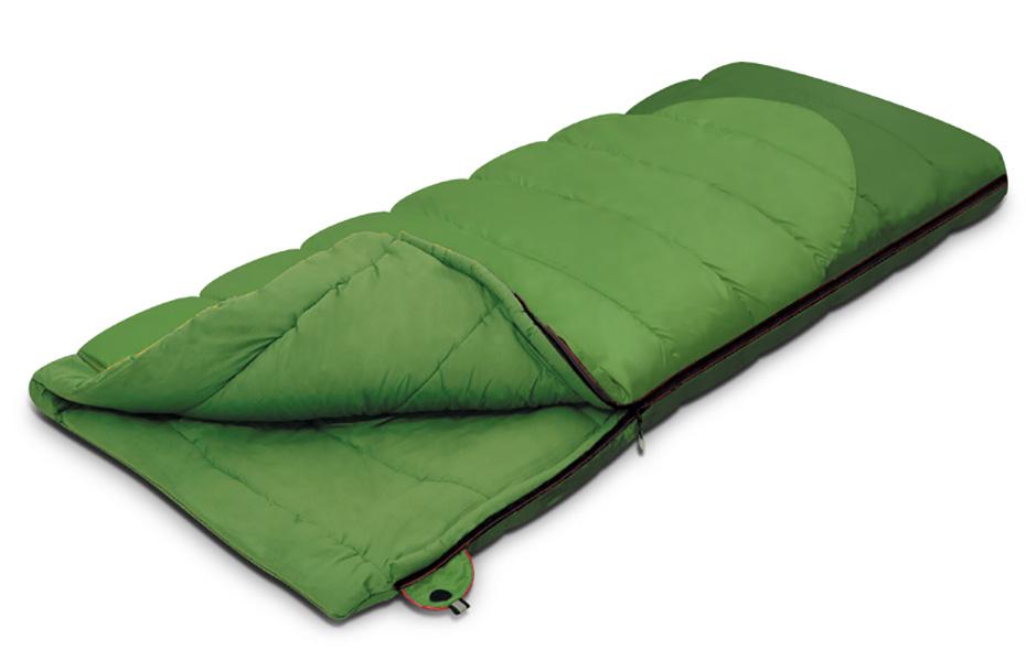 Спальный мешок-одеяло Alexika Siberia 9251-01012-green-left