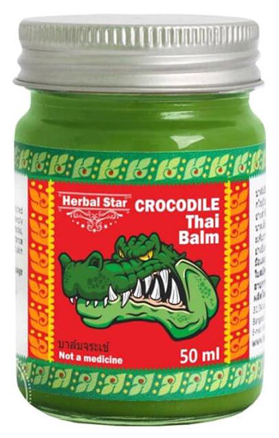 Средство для тела Herbal Star Crocodile Thai