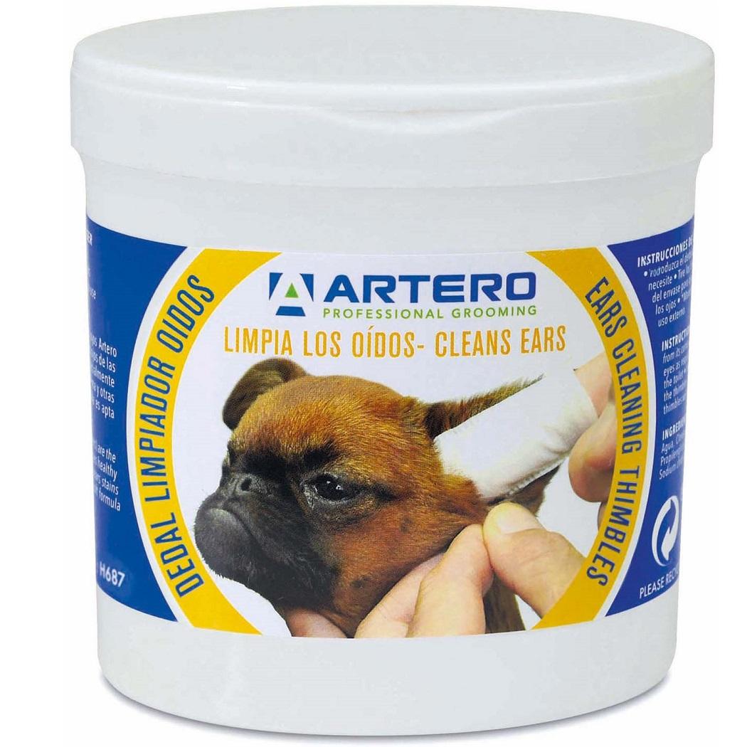 Гигиенические салфетки Artero для чистки ушей собак