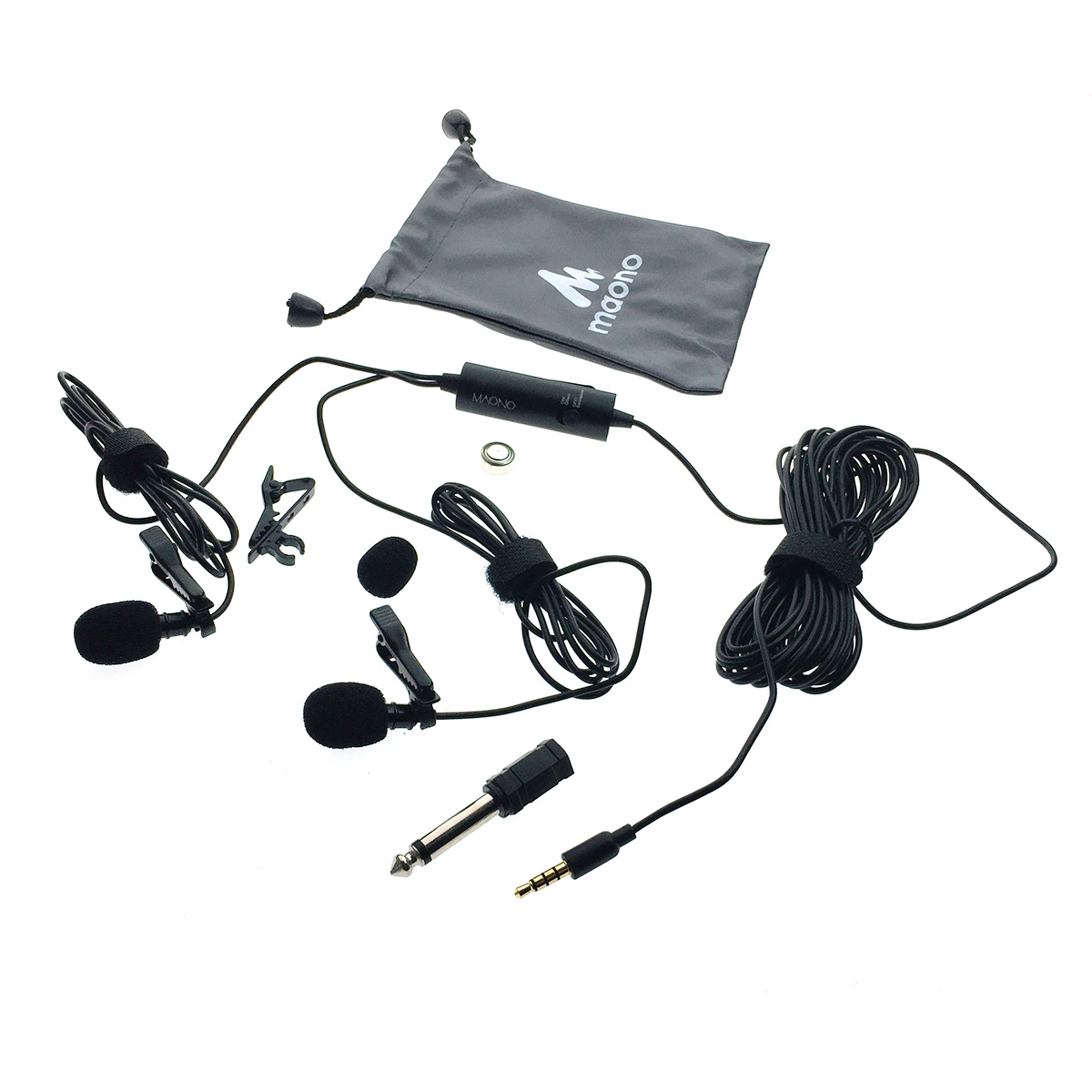 Микрофон MAONO AU-200 (2 шт), Jack 3,5