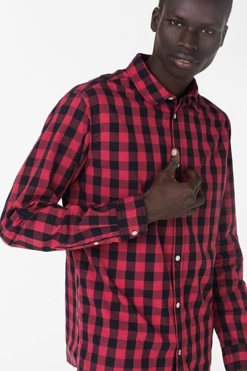 Рубашка мужская Jack & Jones 12136987 красная L